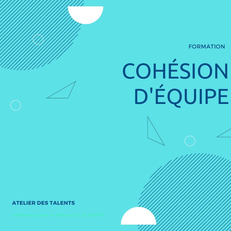 Formation cohésion d'équipe Atelier des Talents