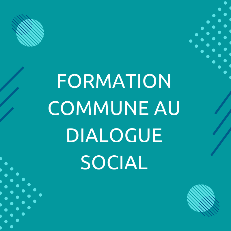 Formation dialogue social