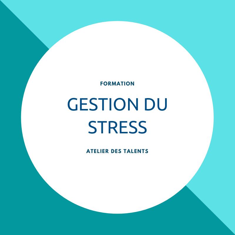 Formation en gestion du stress